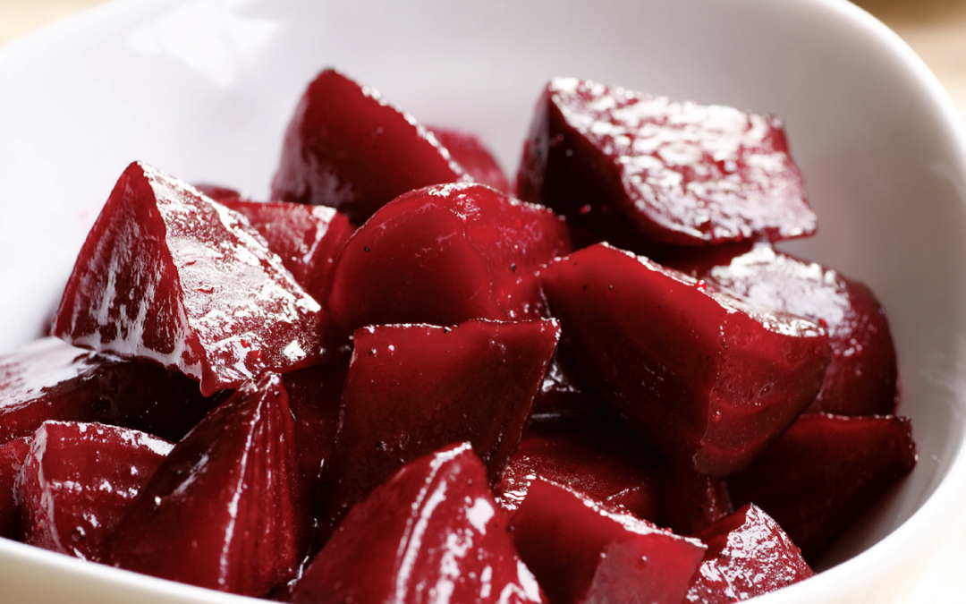 Brown Sugar-Glazed Beets